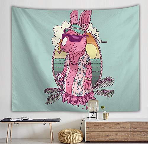 rkmaster Tapijt/Achtergrond Doek Wand/Strand Handdoek/Portemonnee/Picknick Mat Leuke Hond Gebruikt voor Slaapkamer Slaapzaal Woondecoratie