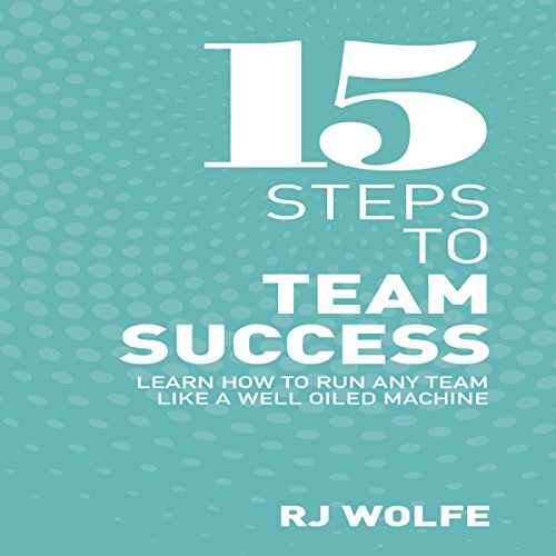 15 Steps to Team Success audiobook cover art