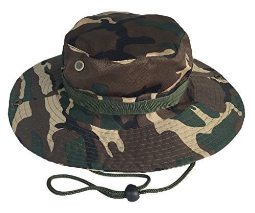 COMVIP COMVIP Sommer Damen Herren wasserdichte Camping Hut Wanderhut Fischerhüte Sonnenhüte Boonie Hat Farbe B