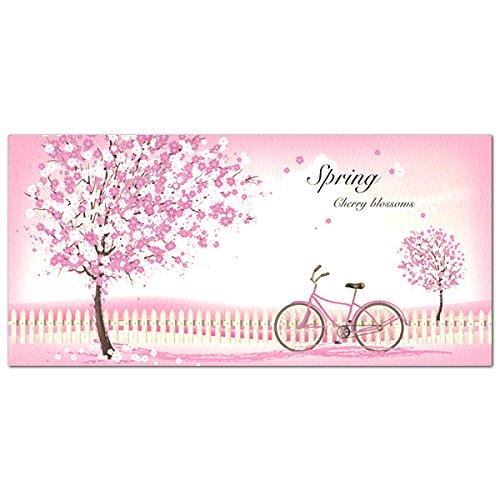 春柄 一筆箋 桜と自転車 MP-460 (A-1) 2柄各18枚入り フロンティア (ZR)