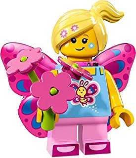 Butterfly Girl #7 of 16, LEGO Minifigures Series 17 Set 71018 (Sealed Retail Mystery Packaging!)