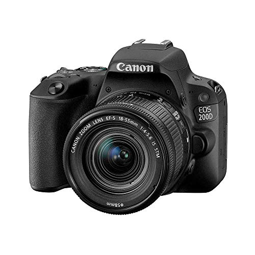 Canon EOS Rebel SL2 + EF-S 18-55mm f/4-5.6 SLR-Kamera-Set 24,2 MP CMOS 6000 x 4000 Pixel Schwarz - Digitalkameras (24,2 MP, 6000 x 4000 Pixel, CMOS, Full HD, Touchscreen, Schwarz)