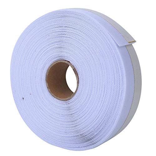Demeras Entretela de Ropa Cola de Caballo Entretelas de Tela Blanca para confección de Ropa Plantilla de Accesorios de Costura(A Roll)
