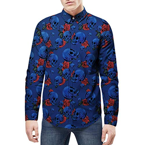 WWricotta LuckyGirls Camisa Formales Negocio para Hombre Camisetas de