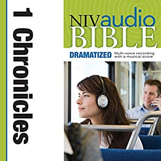 Dramatized Audio Bible - New International Version, NIV: (12) 1 Chronicles audiobook cover art