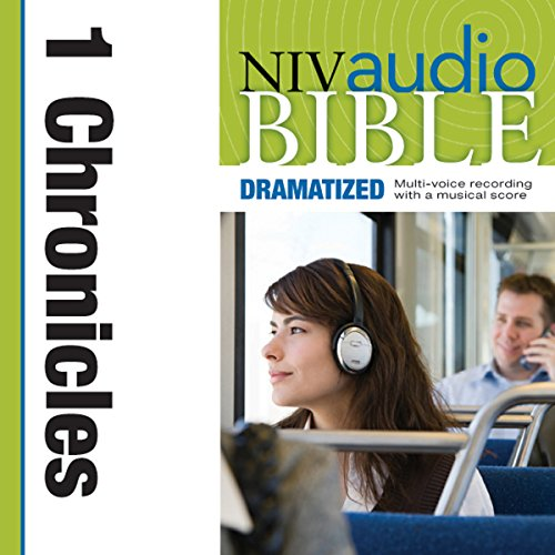 NIV Audio Bible: 1 Chronicles (Dramatized) audiobook cover art