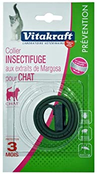 Vitakraft - 10958 - Collier Insectifuge pour Chat