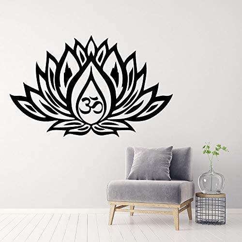 wZUN Pegatinas de Pared religiosas Modernas Personalidad Sala de Estar Creativa decoración de la Pared de la habitación de los niños Tatuajes de Pared de salón de Belleza 33X54cm