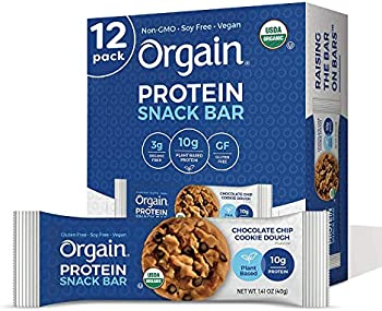 12-Count Orgain Organic Plant Based Protein Bar