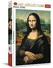 Trefl, Puzzel Mona Lisa, 1000 stukjes, Art Collection, voor kinderen vanaf 12 jaar