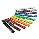 CABLEPELADO Marcador cables 4.0 mm (100 ud/bolsa) Multicolor