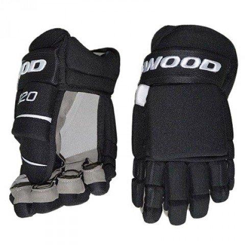 Sherwood True Touch Padded T120 Handschuhe Senior, Größe:15 Zoll, Farbe:schwarz
