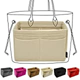 9. Purse Organizer Insert, Bag Handbag Tote Organizer, Bag in Bag, Perfect for Speedy Neverfull and More
