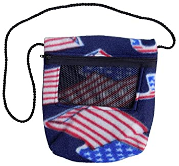 Bonding Carry Pouch  American Flag  for Sugar Gliders and Small Pets