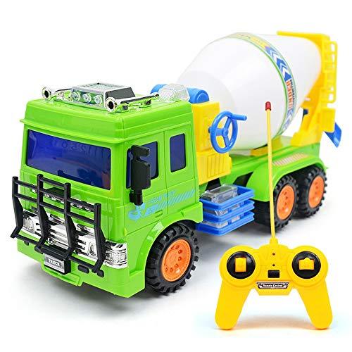 Tagke Control remoto Construcción de automóviles Camión Cemento Cisterna Mezclador Vehículo de...