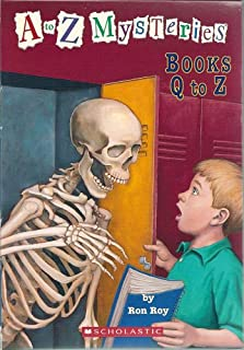 A to Z Mysteries Boxed Set, Books Q-Z: Quicksand Question, Runaway Racehorse, School Skeleton, Talking T. Rex, Unwilling U...