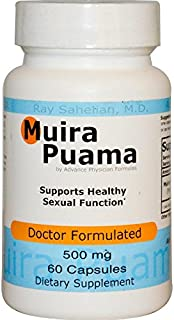 2 Bottles Muira Puama Extract Potency Wood Libido Supplement for Men and Women, 500 mg, 60 Capsules - Endorsed by Dr. Ray ...