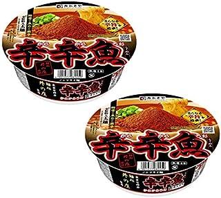 寿がきや 麺処井の庄監修 辛辛魚らーめん 136gカップ 2食