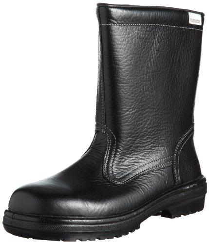 [ミドリ安全] 静電安全靴 JIS規格 ブーツタイプ 半長靴 ラバーテック RT940 静電 メンズ ブラック 23.5 cm