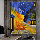 Vincent Van Gogh retrato Bloeiend Irises Starry Night Vaas Zeegezicht Olivos Girasoles Iglesia imprimir cuadros de pared habitaciones