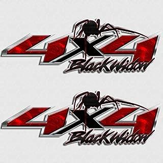 Black Widow 4x4 Spider Truck Decal Sticker Set