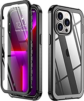 Protective Case with Built-in Screen Protector for iPhone 13 Pro Max