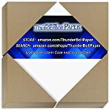 25 Bright White Smooth Card Paper Sheets - 11 X 14 Inches Scrapbook|Picture-Frame Size - 80# (80...