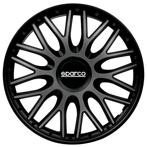 Sparco SPC1396GRBK set wieldoppen Roma 13 inch grijs/zwart