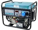 Groupe électrogène gaz-essence KS 7000E G,generateur de courant puissance maximale 5500 W, 230V moteur EURO-V, power station avec AVR, generateur electrique essence, enroulement 100% cuivre.