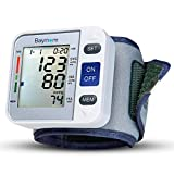 Baymore Automatic Blood Pressure Monitor Adjustable Wrist Cuff 90 Reading Memory