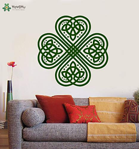 Ajcwhml Wall Decal Mandala Flower Plant Vinly Wall Stickers For Kids Rooms Yoga Studio Removable Art Mural Home Decor Design 79x79cm