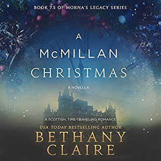 A McMillan Christmas audiobook cover art