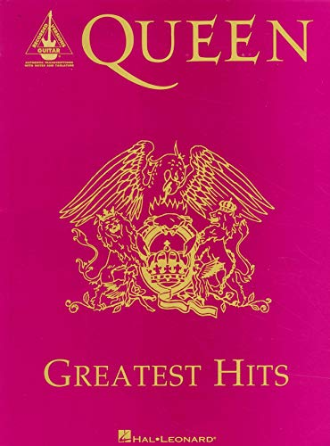 Queen - Greatest Hits (Guitar Tab Songbook) (Guitar Recorded Versions)