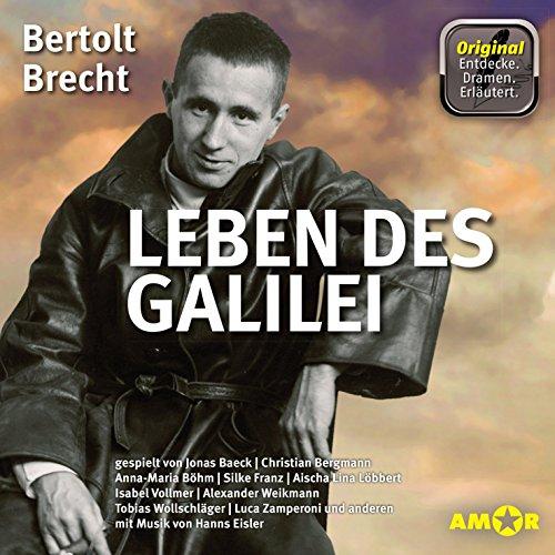 Leben des Galilei audiobook cover art