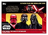 2019 Topps Star Wars The Rise of Skywalker EXCLUSIVE Factory Sealed Retail Box with VERY SPECIAL MEDALLION RELIC! Includes 10 Parallels & 10 Insert Cards! Look for Auto & Sketch Cards! WOWZZER!
