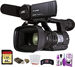 JVC GY-HM620 ProHD Mobile News Camera (GY-HM620U) W/ 64GB Memory Card, Cleaning Set and More.