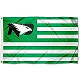 College Flags & Banners Co. North Dakota Fighting Hawks Hawks Stars and Stripes Nation Flag