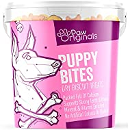 Puppy Bite Dog Treat Biscuits - 100% Wheat Free   Delicious Tasting Bite Treats For Dogs & Puppies  ...
