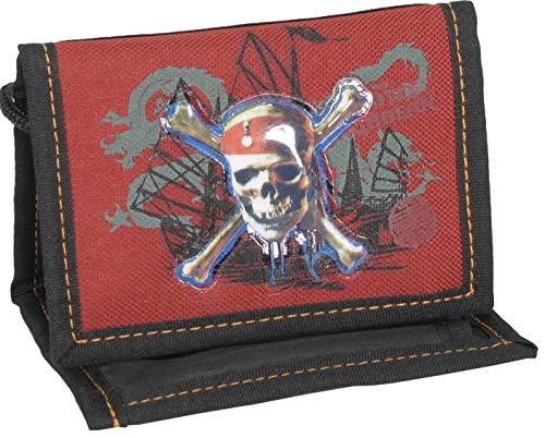 Kinder Brustbeutel Geldbörse Portemonnaie Geldbeutel Jungen Mädchen (Pirat)
