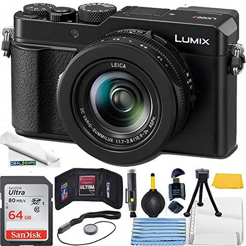 Lumix LX100 II Large Four Thirds 21.7 MP Multi...