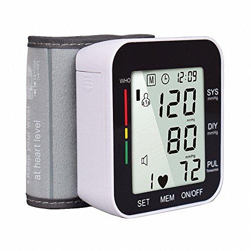 BDFA Handgelenk-Elektronischer Blutdruck-Monitor-Digital-Automatischer Haushalt Sphygmomanometer Portable Health Care,Black
