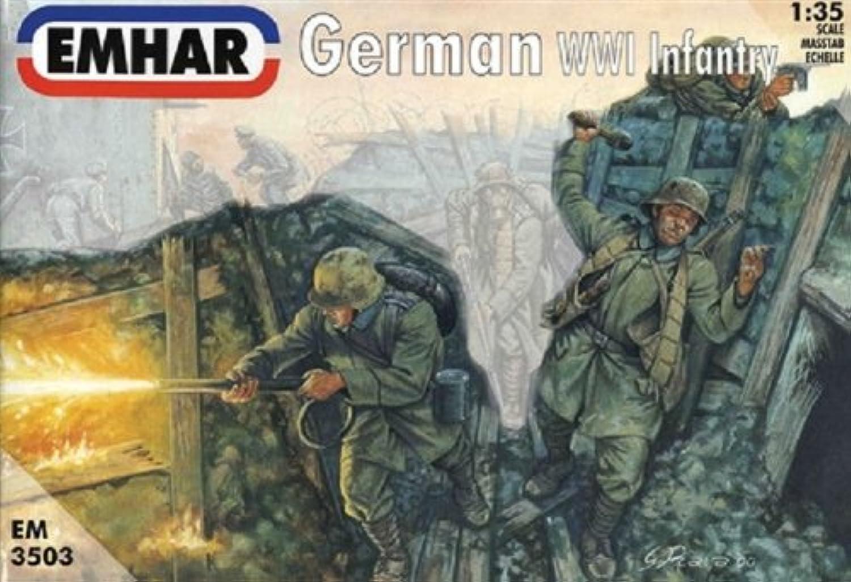 Emhar Models German WWI Infantry Model Building Kit