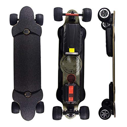 SHEHUIREN Longboard Elektromotor Skateboard E Skateboard Longboard LG-Akku Mit Fernbedienung 40Km/H Skaten Cruiser Boards