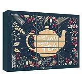 Tee-Adventskalender von FROG.coffee | Doppelter Genuss - 48 Teebeutel | Teekanne, ChariTea, Meßmer,...
