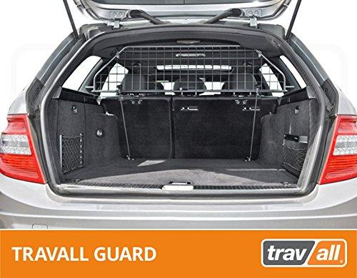 Travall Guard Hundegitter Kompatibel Mit Mercedes-Benz C-Klasse T-Modell (2007-2014) TDG1097 - Maßgeschneidertes Trenngitter in Original Qualität