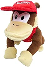 Little Buddy Super Mario All Star Collection 1587 Diddy Kong Stuffed Plush, 9