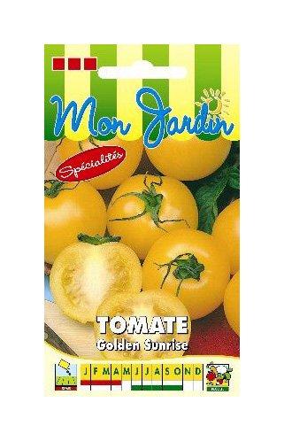 Les Graines Bocquet - Graines De Tomate Jaune Golden Sunrise - Graines Potagères À Semer - Sachet De 0.2Grammes