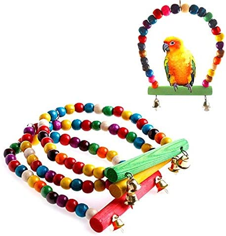 Odiegra - Bird Toys 1 Pc Multi Color Parrot Parakeet Limited Max 61% OFF time sale Cockatiel
