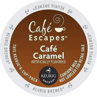 Café Escapes Keurig K Cups, Caramel, (144 Count)