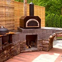 Chicago Brick Oven CBO-500 Countertop Outdoor Wood Fired Pizza Oven - Copper